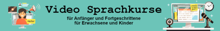 Video-Sprachkurs.de - Eine weitere WordPress-Website